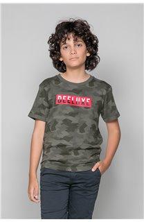 T-Shirt T-SHIRT WEAK Garçon W19147B (48817) - DEELUXE