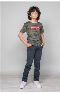 T-Shirt T-SHIRT WEAK Garçon W19147B (48818) - DEELUXE