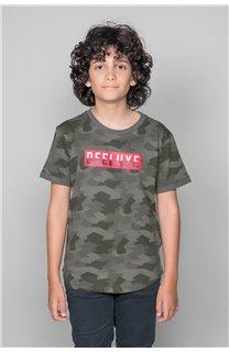 T-Shirt T-SHIRT WEAK Garçon W19147B (48819) - DEELUXE