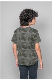 T-Shirt T-SHIRT WEAK Garçon W19147B (48820) - DEELUXE