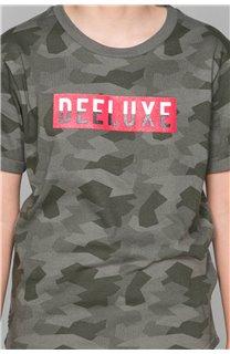 T-Shirt T-SHIRT WEAK Garçon W19147B (48821) - DEELUXE