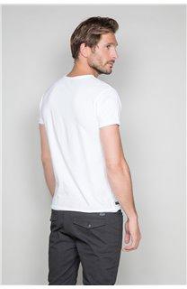 T-Shirt T-SHIRT SKULLMAN Homme W19134 (48840) - DEELUXE