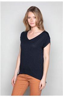 T-Shirt T-SHIRT SWEET Femme P131W (48923) - DEELUXE