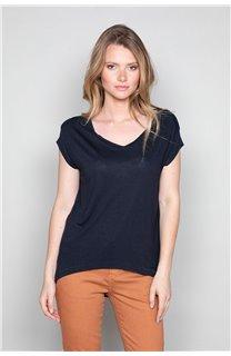 T-Shirt T-SHIRT SWEET Femme P131W (48925) - DEELUXE