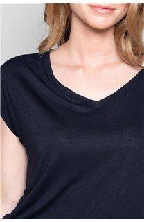 T-Shirt T-SHIRT SWEET Femme P131W (48927) - DEELUXE