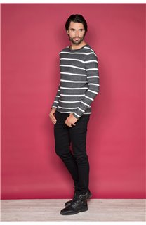 Pull PULL GRANITO Homme W19330 (48960) - DEELUXE