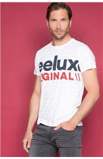 T-Shirt T-SHIRT KLEEF Homme W19198 (49094) - DEELUXE