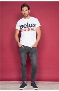 T-Shirt T-SHIRT KLEEF Homme W19198 (49095) - DEELUXE