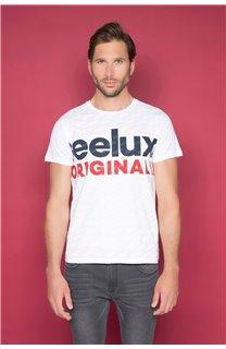 T-Shirt T-SHIRT KLEEF Homme W19198 (49096) - DEELUXE