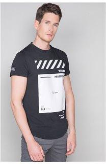 T-Shirt T-SHIRT HERE Homme W19162 (49099) - DEELUXE