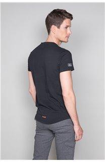 T-Shirt T-SHIRT HERE Homme W19162 (49102) - DEELUXE