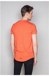 T-Shirt T-SHIRT HERE Homme W19162 (49107) - DEELUXE