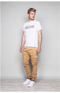 T-Shirt T-SHIRT LEON Homme W19131 (49130) - DEELUXE