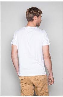T-Shirt T-SHIRT LEON Homme W19131 (49132) - DEELUXE