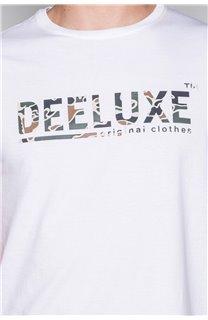 T-Shirt T-SHIRT LEON Homme W19131 (49133) - DEELUXE