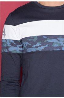 T-Shirt T-SHIRT WICKED Homme W19185 (49202) - DEELUXE