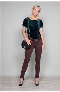 Pantalon PANTALON PIME Femme W19729W (49272) - DEELUXE