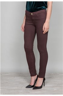 Pantalon PANTALON PIME Femme W19729W (49274) - DEELUXE