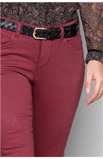 Pantalon PANTALON PIME Femme W19729W (49281) - DEELUXE