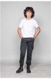 Pantalon PANTALON GARDEN Garçon W197017B (49316) - DEELUXE
