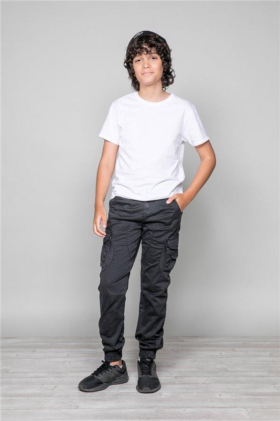 Pantalon GARDEN Garçon W197017B (49316) - DEELUXE