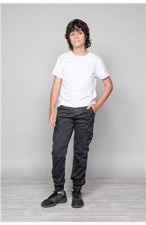 Pantalon PANTALON GARDEN Garçon W197017B (49317) - DEELUXE