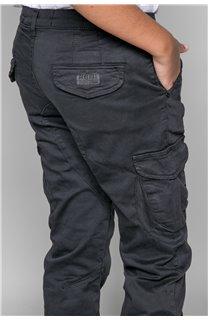 Pantalon PANTALON GARDEN Garçon W197017B (49320) - DEELUXE