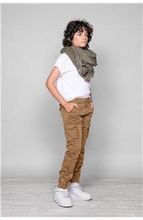 Pantalon PANTALON GARDEN Garçon W197017B (49322) - DEELUXE