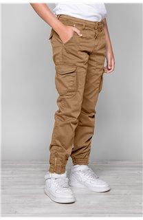 Pantalon PANTALON GARDEN Garçon W197017B (49323) - DEELUXE