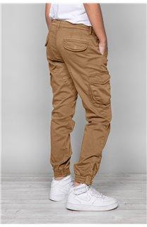 Pantalon PANTALON GARDEN Garçon W197017B (49324) - DEELUXE