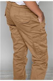 Pantalon PANTALON GARDEN Garçon W197017B (49325) - DEELUXE