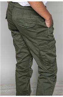 Pantalon PANTALON GARDEN Garçon W197017B (49330) - DEELUXE