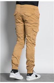 Pantalon PANTALON GARDEN Homme W197017 (49634) - DEELUXE