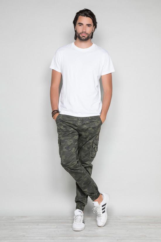 Pantalon PANTALON GARDEN Homme W197017 (49636) - DEELUXE