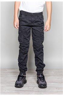 Pantalon PANTALON GARDEN Garçon S197017B (49775) - DEELUXE