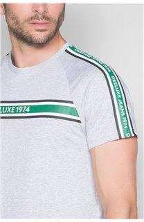 T-Shirt T-SHIRT TRACTION Homme W19101 (49787) - DEELUXE