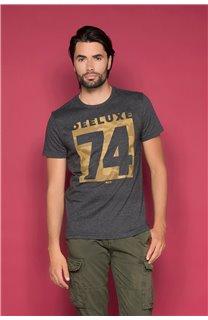 T-Shirt T-SHIRT SHORES Homme W19118 (49788) - DEELUXE