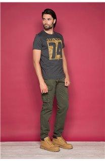 T-Shirt T-SHIRT SHORES Homme W19118 (49789) - DEELUXE