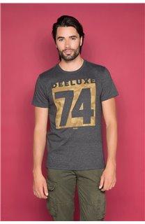 T-Shirt T-SHIRT SHORES Homme W19118 (49790) - DEELUXE