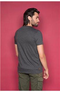 T-Shirt T-SHIRT SHORES Homme W19118 (49791) - DEELUXE