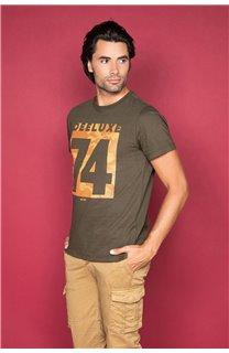 T-Shirt T-SHIRT SHORES Homme W19118 (49793) - DEELUXE