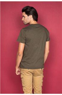 T-Shirt T-SHIRT SHORES Homme W19118 (49796) - DEELUXE