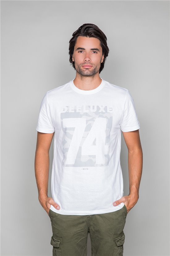 T-Shirt SHORES Homme W19118 (49798) - DEELUXE
