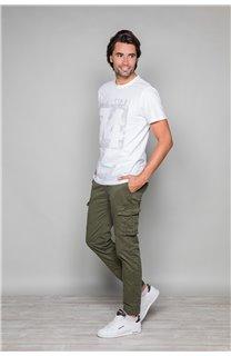 T-Shirt T-SHIRT SHORES Homme W19118 (49799) - DEELUXE