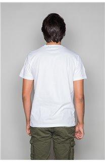 T-Shirt T-SHIRT SHORES Homme W19118 (49801) - DEELUXE