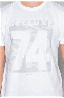 T-Shirt T-SHIRT SHORES Homme W19118 (49802) - DEELUXE