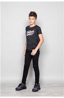 T-Shirt MILO Garçon W19140B (49804) - DEELUXE