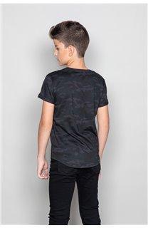 T-Shirt MILO Garçon W19140B (49806) - DEELUXE
