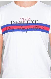 T-Shirt T-SHIRT DRAKE Homme W19142 (49812) - DEELUXE