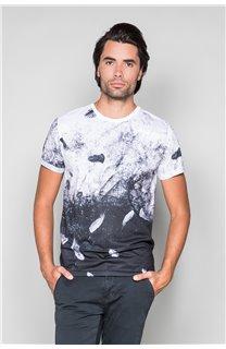 T-Shirt T-SHIRT WINGS Homme W19175 (49813) - DEELUXE